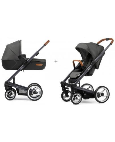 Бебешка количка 3 в 1 Mutsy i2 Urban Nomad - Сива - 2