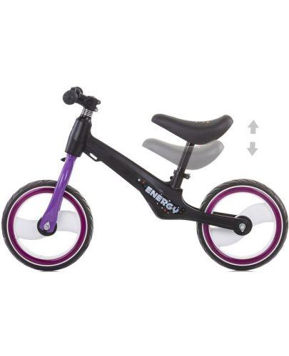 Музикално колело за баланс Chipolino - Energy, лилаво - 3