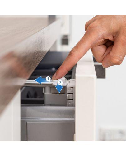 Предпазно заключване на чекмедже за прибори Reer, 2 броя - 6