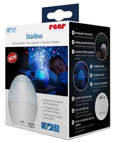 Проектор Reer Starlino - Звездно небе - 2