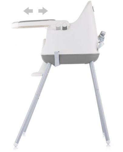 Столче за хранене 3 в 1 Chipolino - Пудинг, сиво - 2