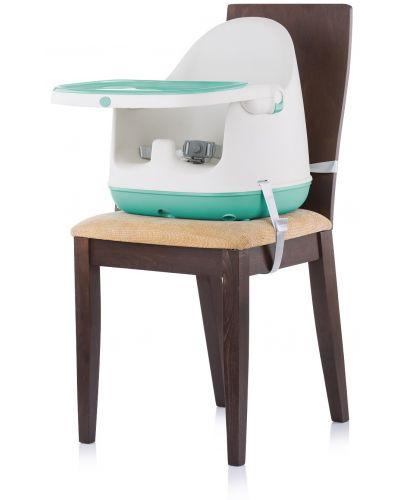 Столче за хранене 3 в 1 Chipolino - Пудинг, зелено - 4