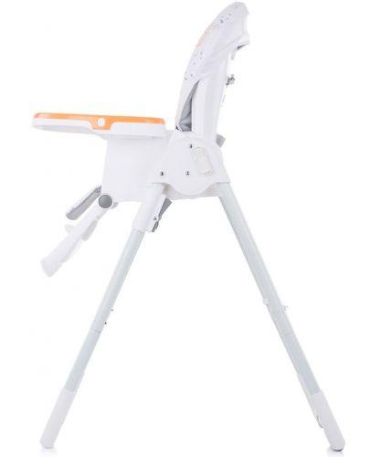 Столче за хранене Chipolino - Sweety, оранжево - 5