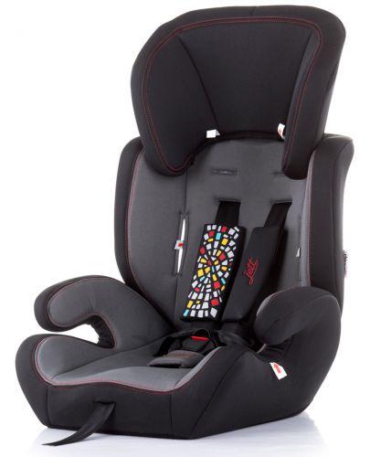 Столче за кола Chipolino - Джет, 9-36 kg, черно - 1
