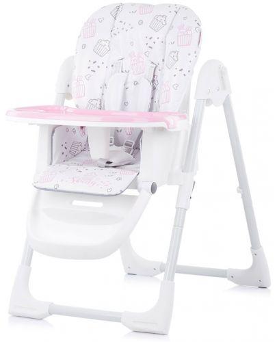 Столче за хранене Chipolino - Sweety, розово - 2