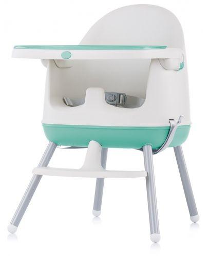 Столче за хранене 3 в 1 Chipolino - Пудинг, зелено - 3
