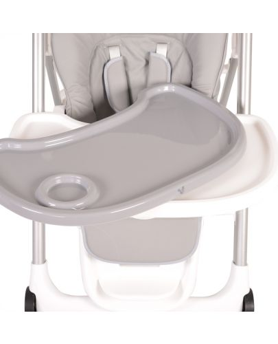 Столче за хранене Cangaroo - Brunch, Сиво - 11