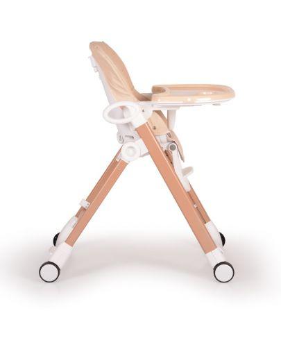 Столче за хранене Cangaroo - Brunch, Бежово - 4