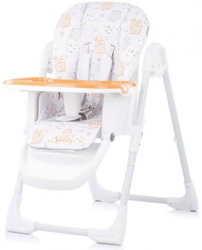 Столче за хранене Chipolino - Sweety, оранжево - 2