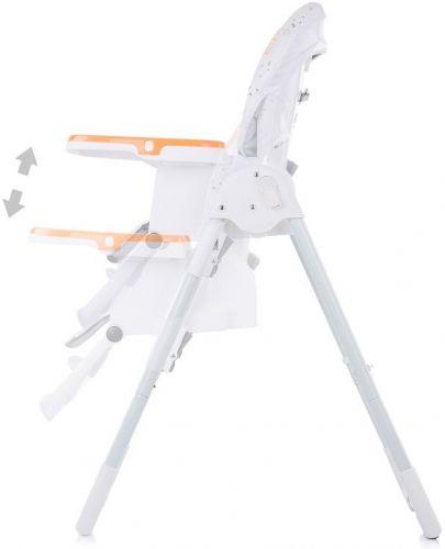 Столче за хранене Chipolino - Sweety, оранжево - 3
