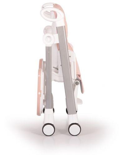Столче за хранене Cangaroo - Brunch, Розово - 11