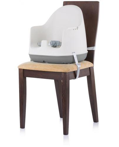 Столче за хранене 3 в 1 Chipolino - Пудинг, сиво - 5