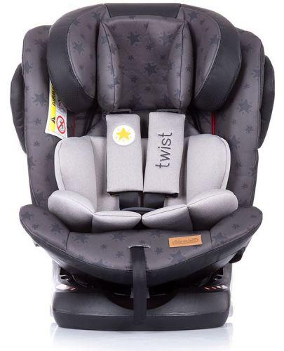 Столче за кола Chipolino - Туист, с IsoFix, 0-36 kg, сиво - 3