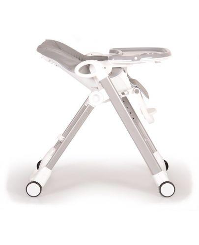 Столче за хранене Cangaroo - Brunch, Сиво - 8