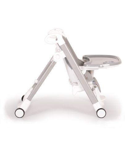 Столче за хранене Cangaroo - Brunch, Сиво - 10