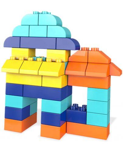 Строителни блокчета Fisher Price Mega Bloks - 60 части - 4