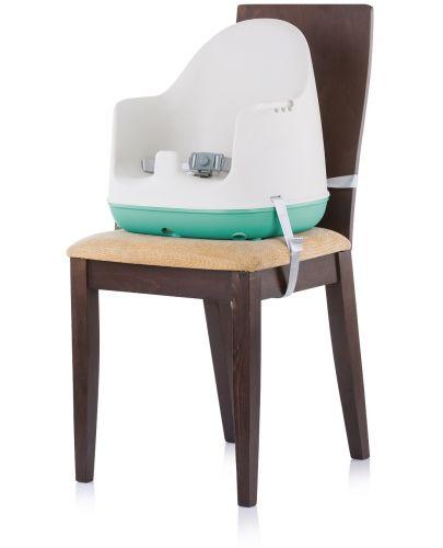 Столче за хранене 3 в 1 Chipolino - Пудинг, зелено - 5