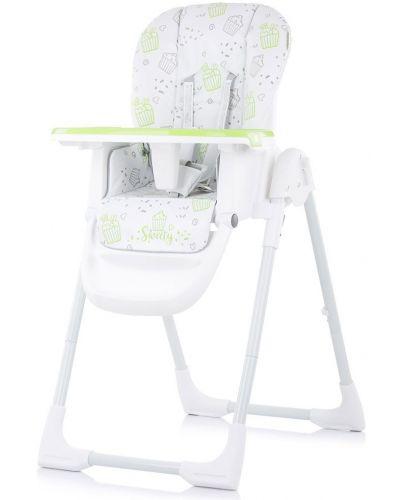 Столче за хранене Chipolino - Sweety, зелено - 1