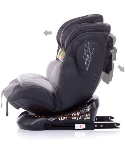 Столче за кола Chipolino - Туист, с IsoFix, 0-36 kg, сиво - 6