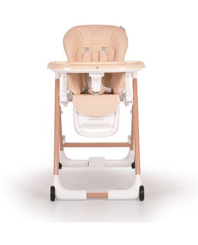 Столче за хранене Cangaroo - Brunch, Бежово - 3