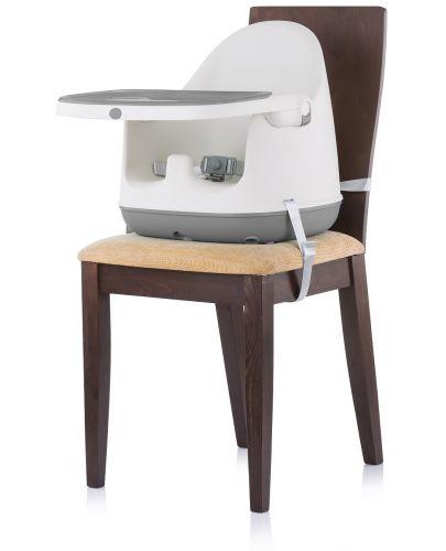 Столче за хранене 3 в 1 Chipolino - Пудинг, сиво - 4