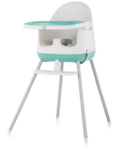 Столче за хранене 3 в 1 Chipolino - Пудинг, зелено - 1