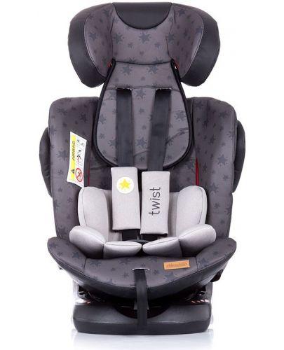 Столче за кола Chipolino - Туист, с IsoFix, 0-36 kg, сиво - 4