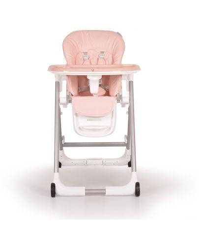 Столче за хранене Cangaroo - Brunch, Розово - 3