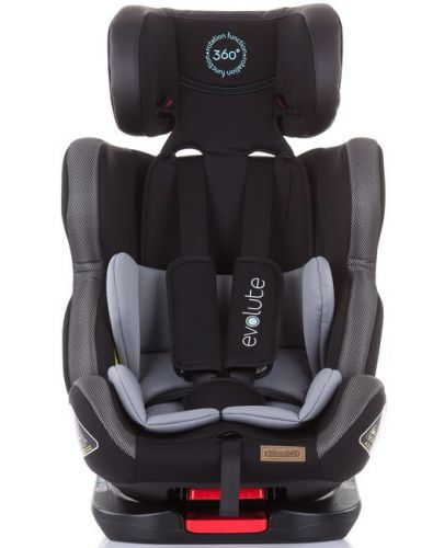 Столче за кола Chipolino - Evolute 360, 0-36 kg, с Isofix, асфалт - 4