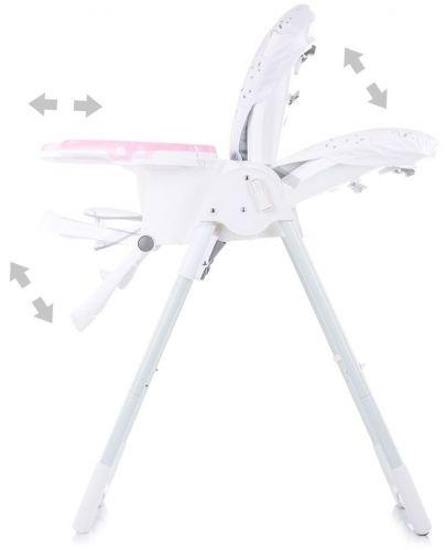 Столче за хранене Chipolino - Sweety, розово - 4