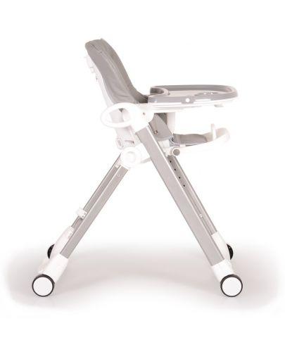 Столче за хранене Cangaroo - Brunch, Сиво - 6