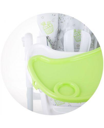 Столче за хранене Chipolino - Sweety, зелено - 7