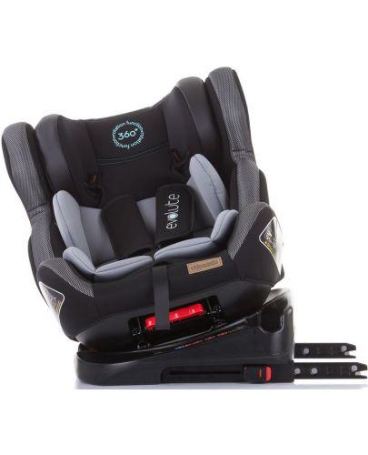 Столче за кола Chipolino - Evolute 360, 0-36 kg, с Isofix, асфалт - 8