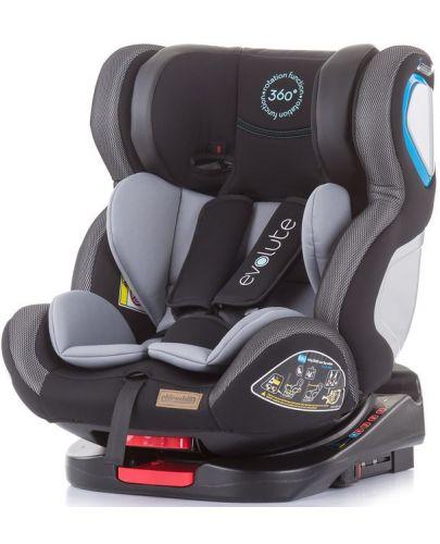 Столче за кола Chipolino - Evolute 360, 0-36 kg, с Isofix, асфалт - 1