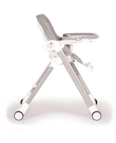Столче за хранене Cangaroo - Brunch, Сиво - 5