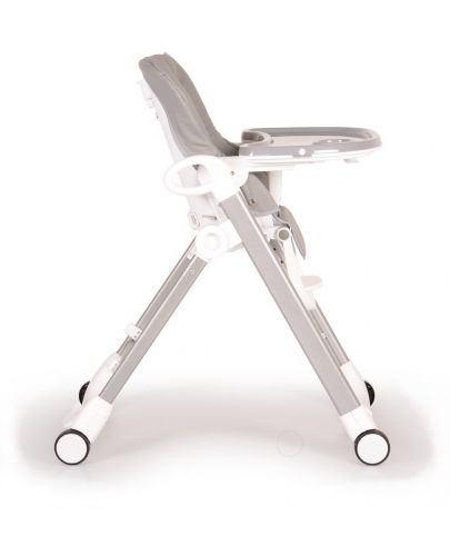 Столче за хранене Cangaroo - Brunch, Сиво - 4