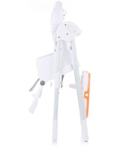Столче за хранене Chipolino - Sweety, оранжево - 6