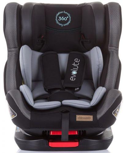 Столче за кола Chipolino - Evolute 360, 0-36 kg, с Isofix, асфалт - 3