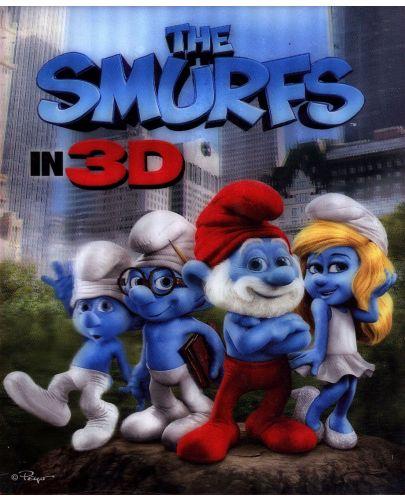 Смърфовете 3D + 2D (Blu-Ray) - 1