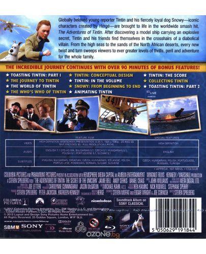 Приключенията на Тинтин 3D + 2D (Blu-Ray) - 3