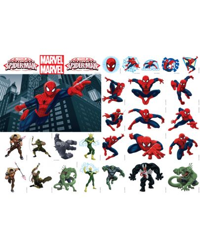 Залепи и играй 1: The Ultimate Spider-Man + 30 стикера - 4