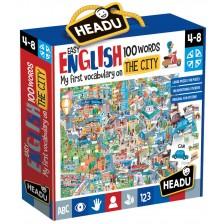 Образователен комплект Headu - Града, първите 100 английски думи -1