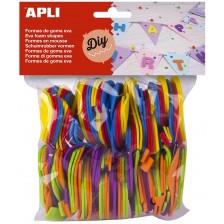 Меки цветни цифри APLI – 120 броя -1
