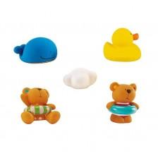 Играчка за баня Hape - Мече Теди и приятели -1