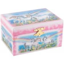 Музикална кутия Goki - Коне -1