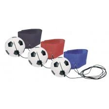 Играчка Gollnest & Kiesel - Футболно топче с ластик (асортимент) -1