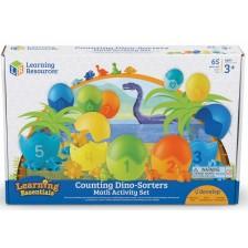 Детска логическа игра Learning Resources - Динозаври -1