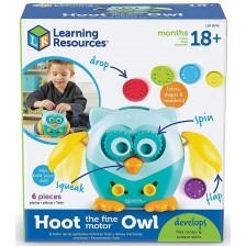 Детска играчка Learning Resources - Кресливата сова -1