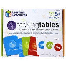 Математическа игра Learning Resources - Карти за умножение и деление -1