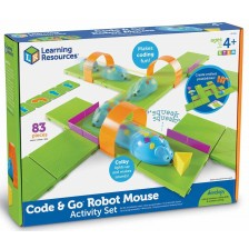 Детска играчка за програмиране Learning Resources - Мишка-робот -1